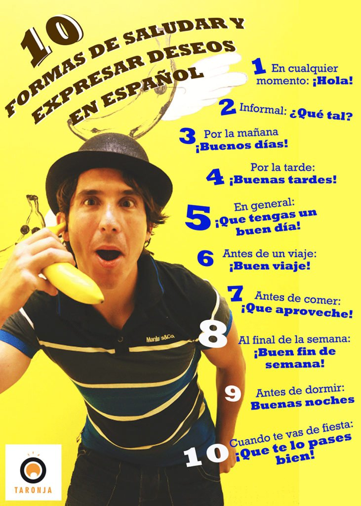 Expresar deseos en español