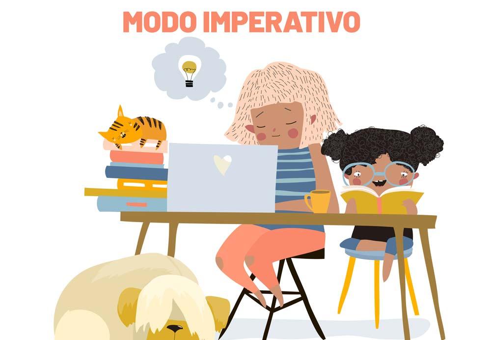 El modo imperativo en español.